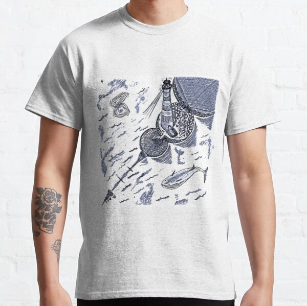 The Cosmic Lighthouse Classic T-Shirt