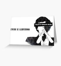 Sherlock: I believe in SH Greeting Card