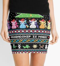 Happy Hearth's Warming Sweater Mini Skirt