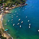 Yelapa Bay by Aaron  Cromer