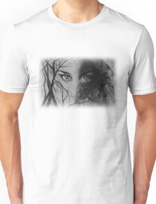 Mysterious Female Unisex T-Shirt