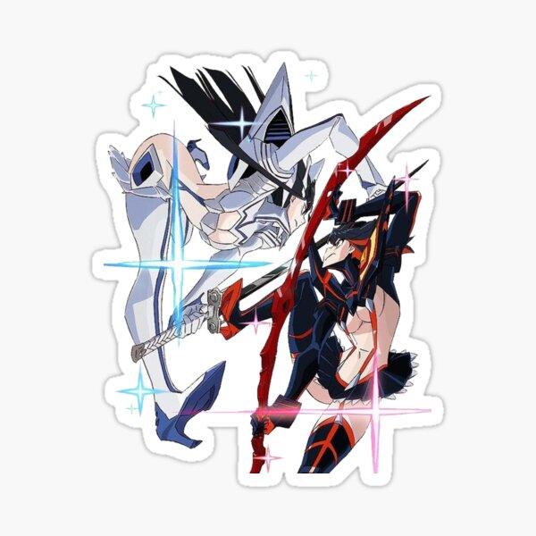 Kiryuin vs Ryuko Sticker