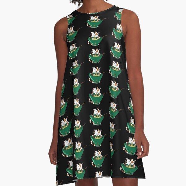 Ramenyan Version 2 A-Linien Kleid