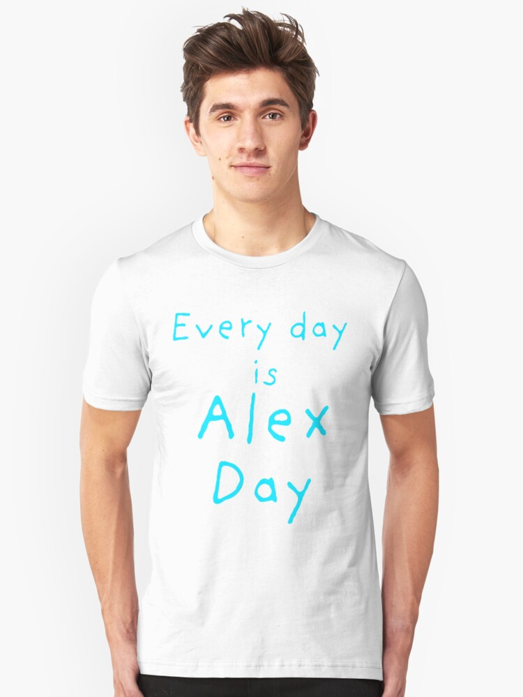 Every Day is Alex Day by Margaret Wickless