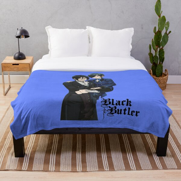 Black butler Ciel Throw Blanket