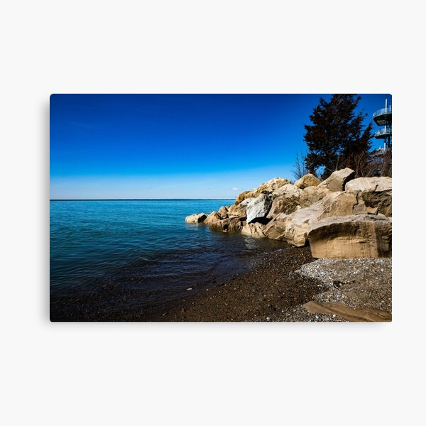 Lake Erie Shore Canvas Print