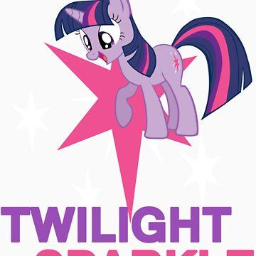 Twilight Sparkle by kidomaga