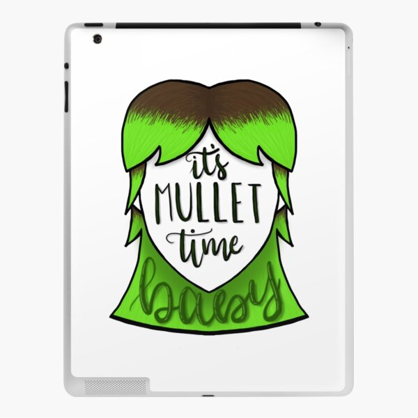 It's Mullet Time, Baby iPad Skin