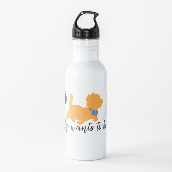 Everybody Wants to be a Cat Water Bottle