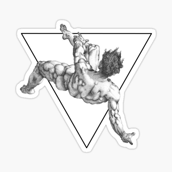 The fall of Phaeton Sticker