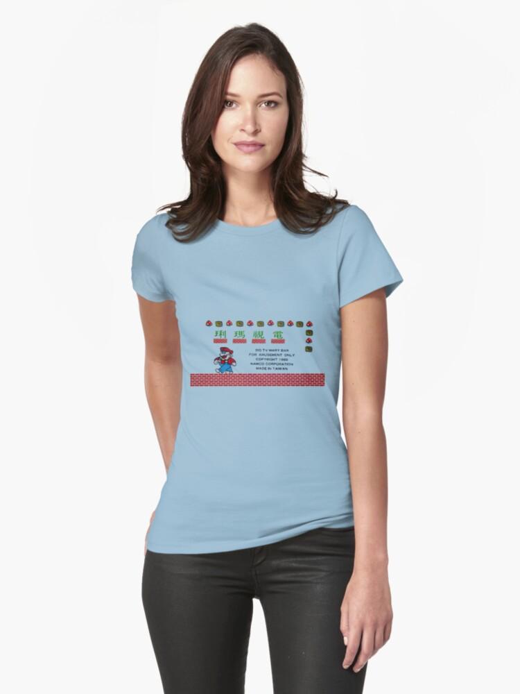 Dian Shi Ma Li Womens T Shirt