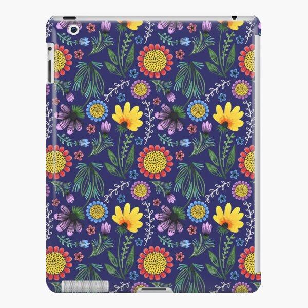 Folksy Flowers (Blue) iPad Snap Case