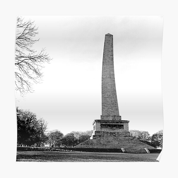 The Wellington Monument, Phoenix Park, Dublin Poster