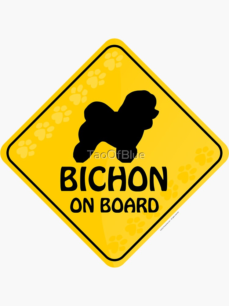 Bichon On Board by TaoOfBlue