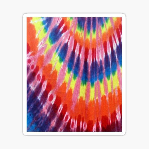 Tie Dye Sticker