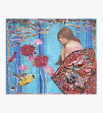 Rose And The Yellow Bird Photographic Print