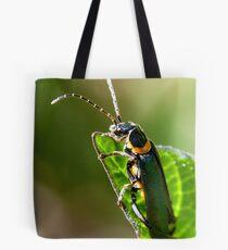 Soldier Beetle. Tote Bag