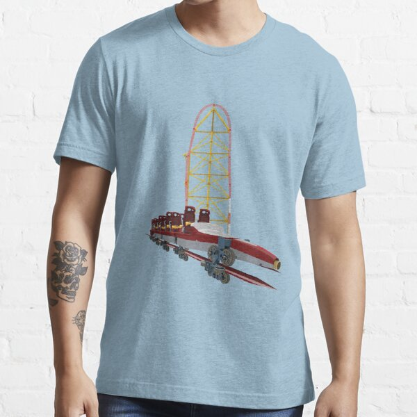 Top Thrill Dragster Intamin Untersetzer Design Essential T-Shirt