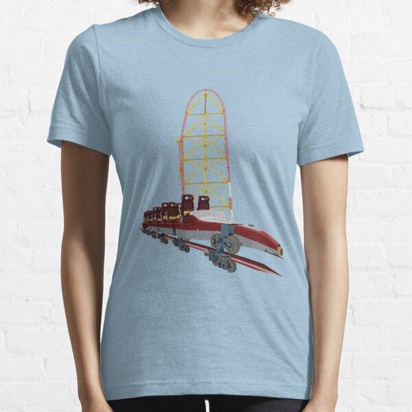 Top Thrill Dragster Intamin Coaster Design Essential T-Shirt
