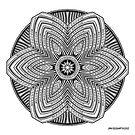 Mandala 39 Prints, Cards & Posters by mandala-jim