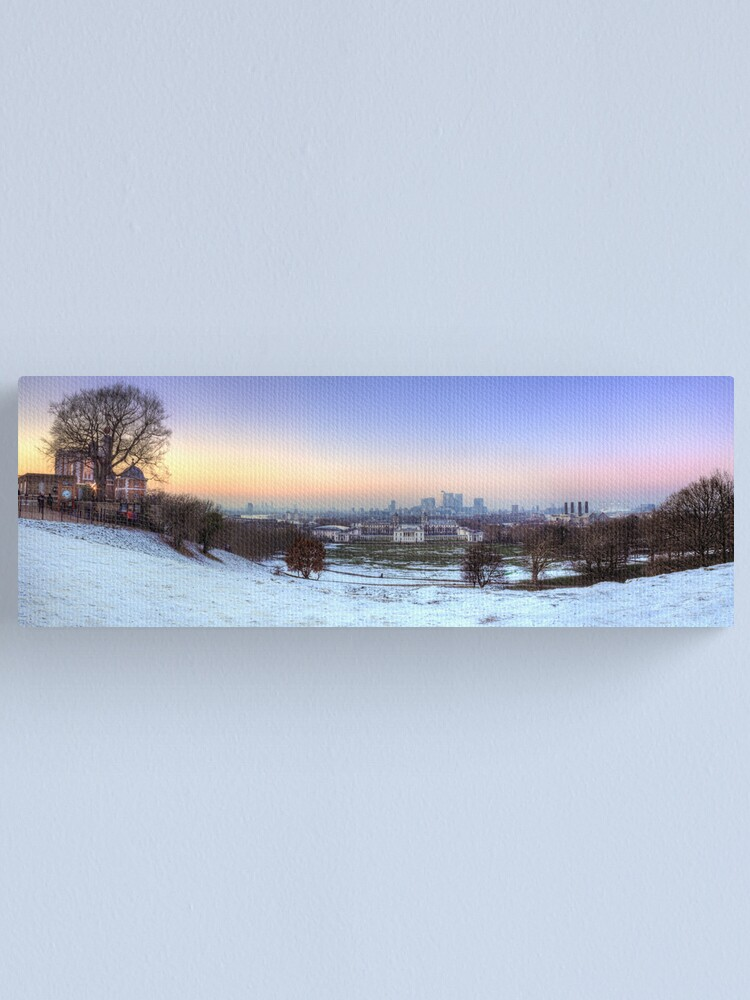 Alternate view of Greenwich Park Panorama Canvas Print