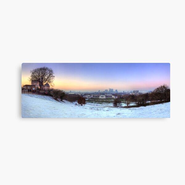 Greenwich Park Panorama Canvas Print