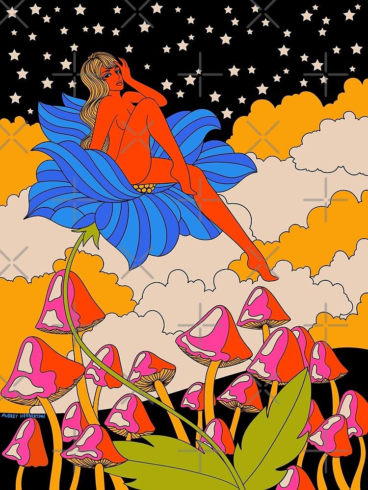 Lady in a flower by MissPennyLane