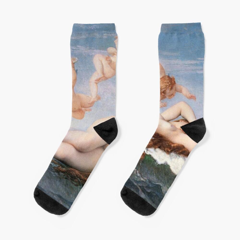 The #Birth of #Venus, Alexandre Cabanel 1875 #TheBirthofVenus #BirthofVenus Socks