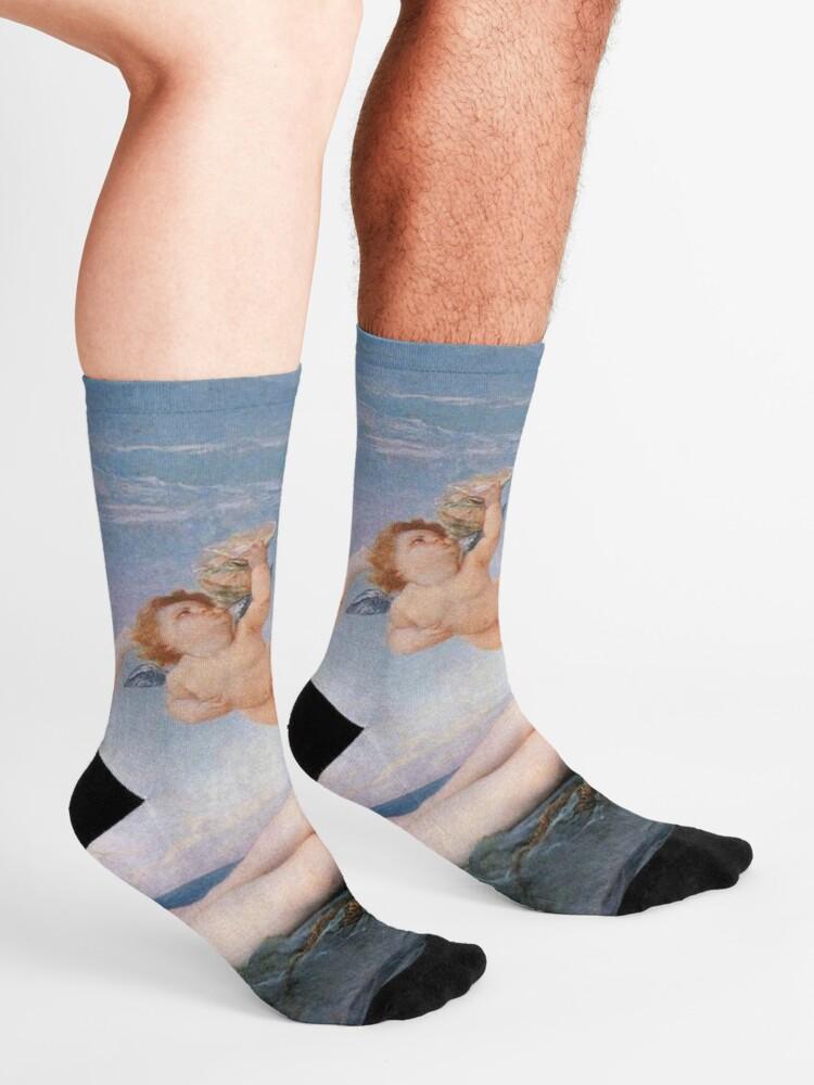 Alternate view of The #Birth of #Venus, Alexandre Cabanel 1875 #TheBirthofVenus #BirthofVenus Socks