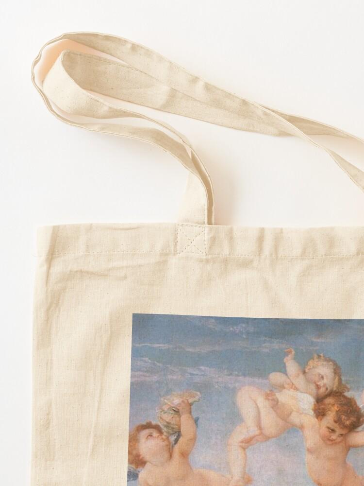 Alternate view of The #Birth of #Venus, Alexandre Cabanel 1875 #TheBirthofVenus #BirthofVenus Tote Bag