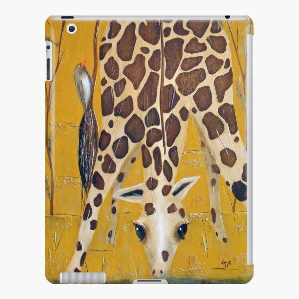 Birds on Baby Giraffe iPad Snap Case