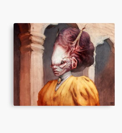 The Aristocrat  Canvas Print