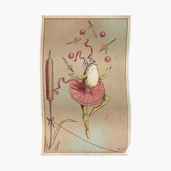 froggy ballerina  Poster