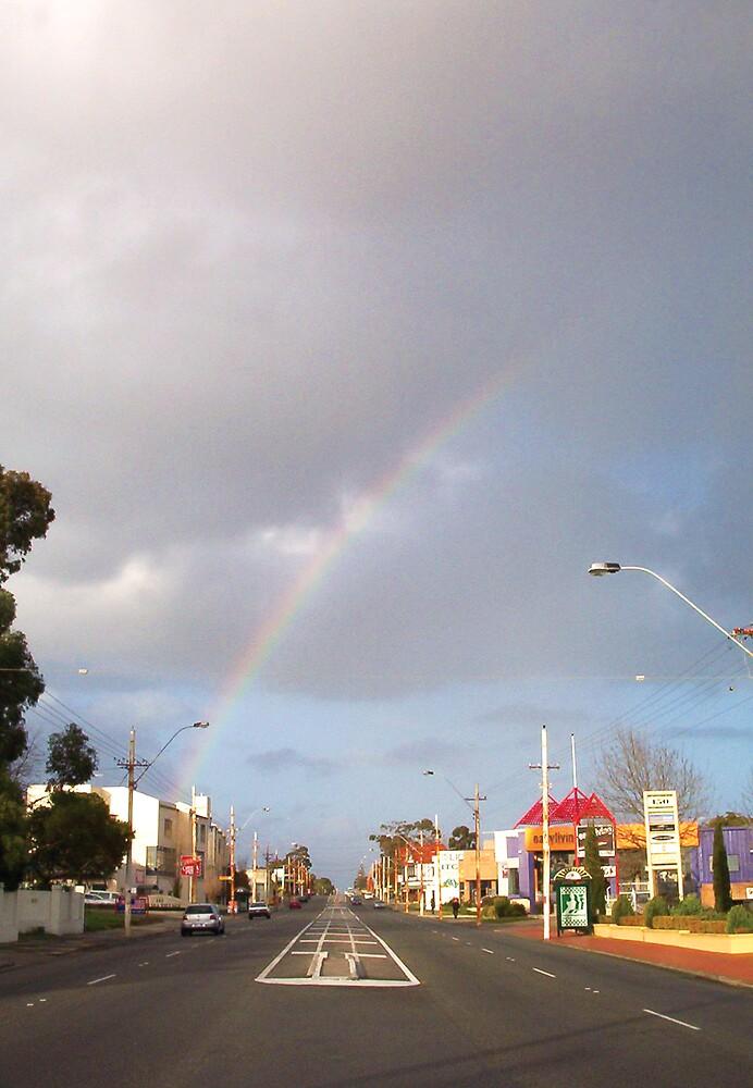 Suburban Rainbow 01 by Robert Phillips