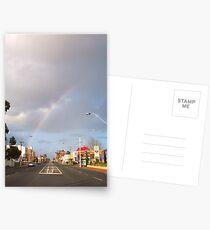 Suburban Rainbow 01 Postcards