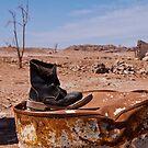 Lonesome shoe, South Sinai, Egypt by NicoleBPhotos