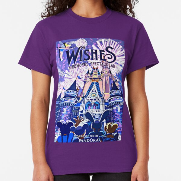 Wishes! Nighttime Spectacular Poster Classic T-Shirt