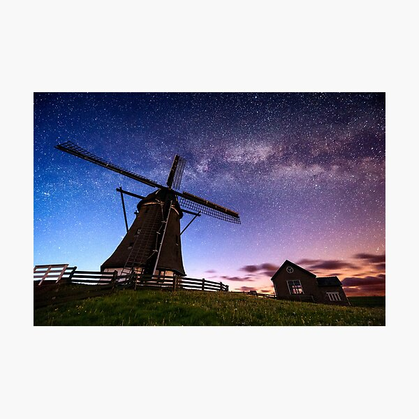 MILKY-MILL Photographic Print
