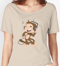 monkey dancing Women's Relaxed Fit T-Shirt