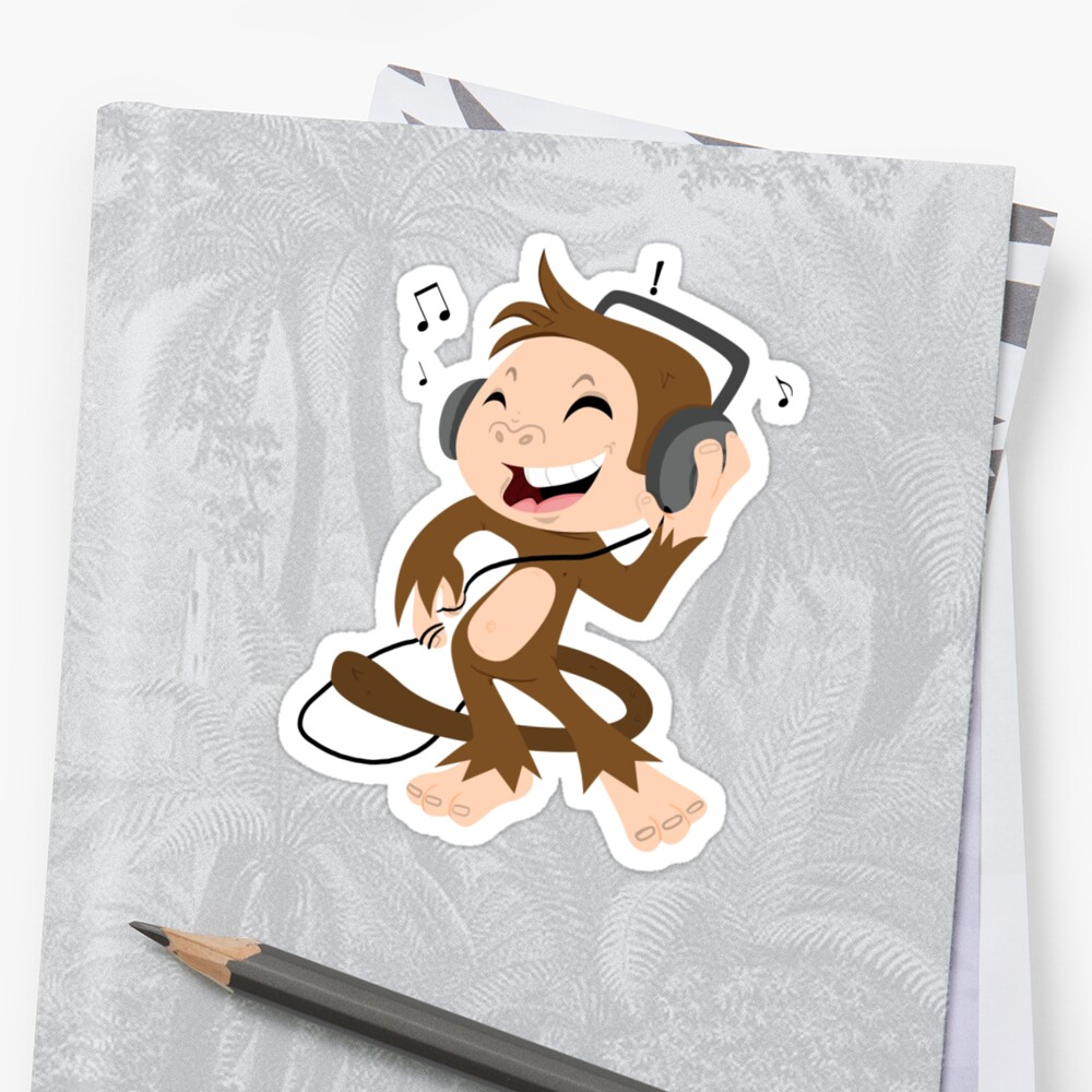 monkey dancing by ConceptStore
