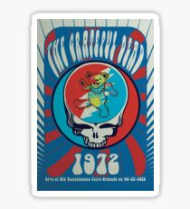 The Grateful Dead psychedelic poster Sticker
