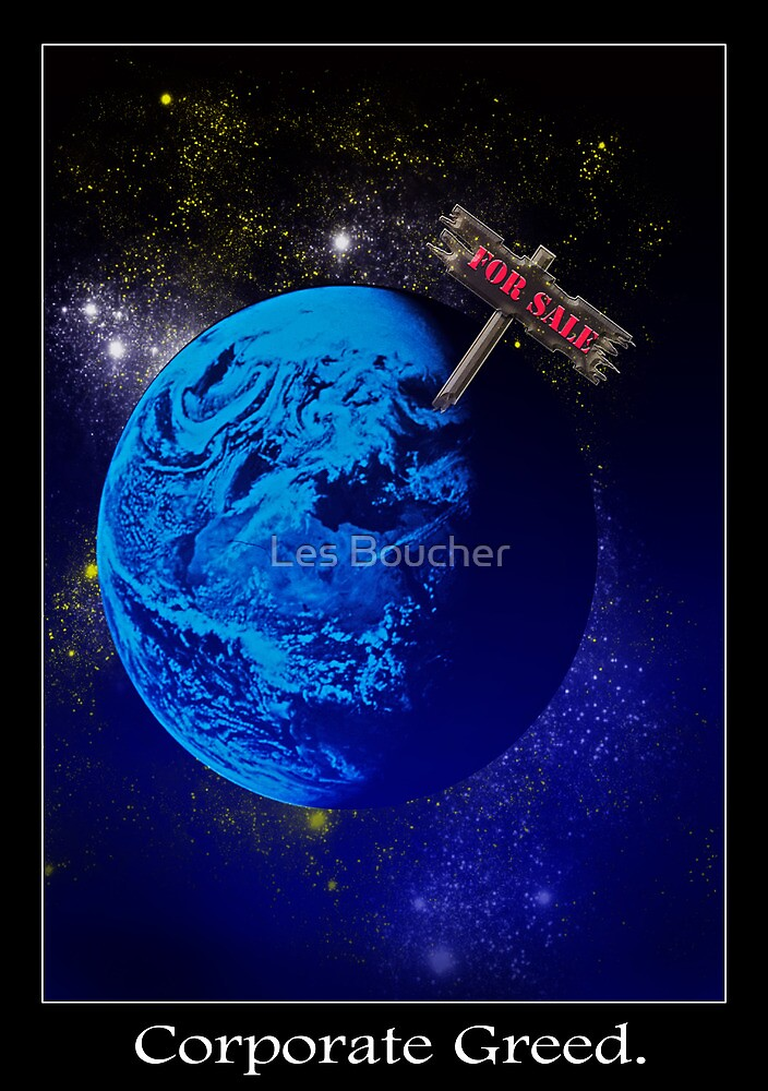 Corporate Greed by Les Boucher