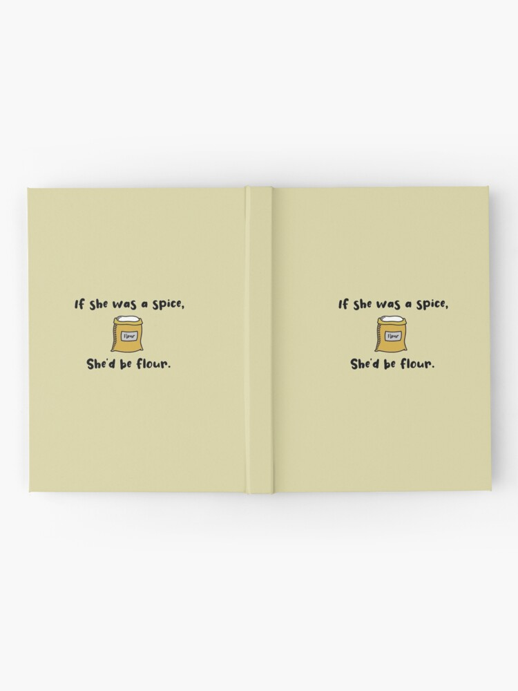 Alternate view of If She Was A Spice - Bob's Burgers Design Hardcover Journal