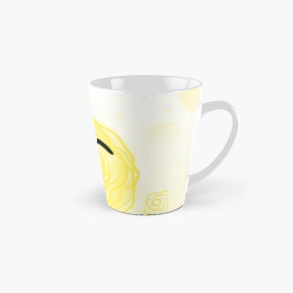 Yellow Scribbling Tall Mug