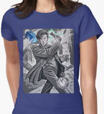 The Eleventh Doctor Women's Fitted T-Shirt