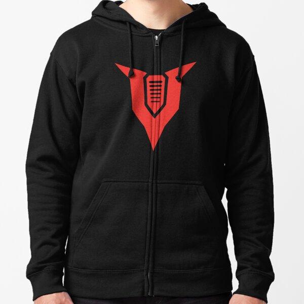TheVolgun (Monotone Red) Zipped Hoodie