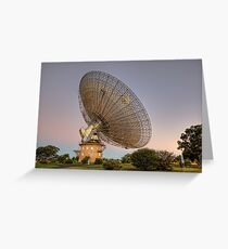 CSIRO Parkes Observatory • New South Wales • Australia  Greeting Card
