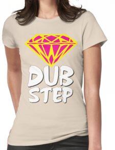 Dubstep Diamond Womens Fitted T-Shirt
