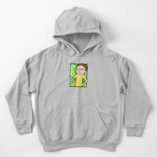 Morty Smith - Rick and Morty Kids Pullover Hoodie