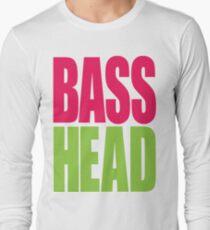 Bass Head (magenta/neon green)  T-Shirt